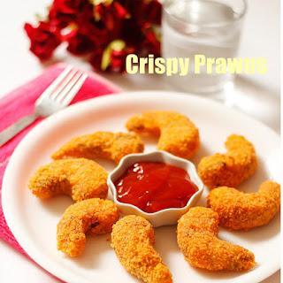 How to make Crispy prawns