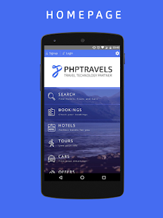 PHPTRAVELS- screenshot thumbnail