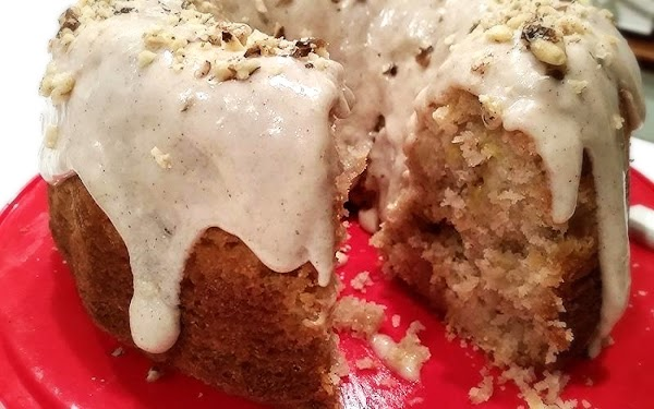 ~ Killer Pineapple Banana Cake & Glaze Recipe