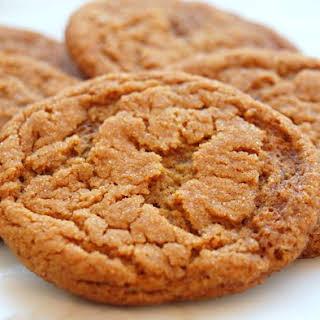 Crispy Ginger Cookies.