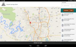 Screenshot of myLSB Mobile