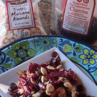 Radicchio Salad with Dried Montmorency Cherries and Marcona Almonds Recipe