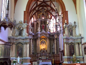 Photo: This is St. Anne's gothic interior.