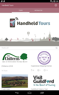 Handheld Tours- screenshot thumbnail