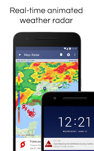NOAA Weather Radar Live & Alerts 1.20 screenshots 1