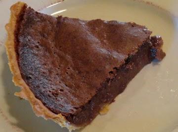 Chocolate Buttermilk Pie Recipe