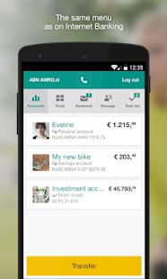 ABN AMRO Mobiel Bankieren - screenshot thumbnail