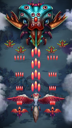 Dragon shooter - Dragon war - Arcade shooting game  screenshots 4