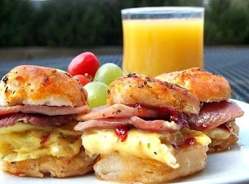 Habanero Honey Country Ham Biscuits Recipe