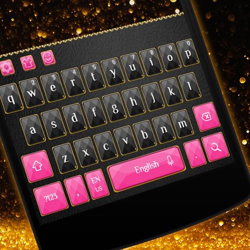 Luxury Pink Keyboard