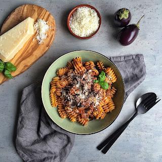 Eggplant Bolognese (Vegetarian)