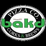Logo for Bakd Corks & Brews, Pizza Co.