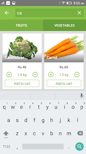 Chm Fruits and Vegetables screenshot 2