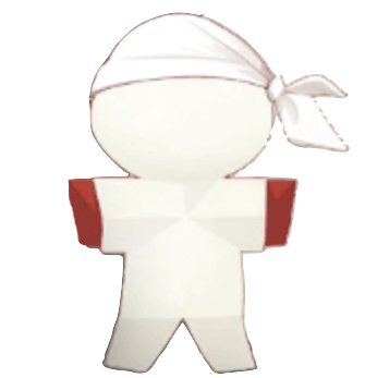 紙人形アイコン