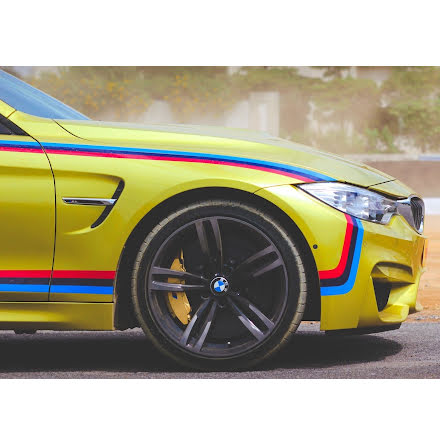 BMW ///M performance vinyl / sticker