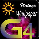 Vintage LG G4 lock screen