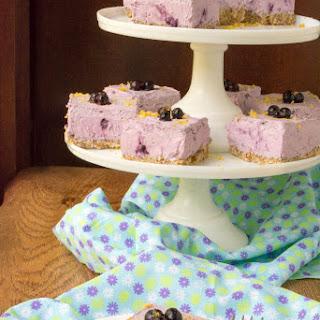 Sugar-Free Low Carb Blueberry Cream Pie