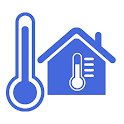 Thermometer Room Temperature Indoor, Outdoor icon