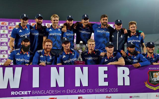 England Cricket Tab