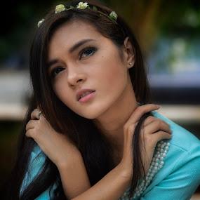 Kawaii by Agung Hendramawan - People Portraits of Women ( #modelling, #model )