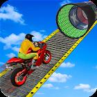 Racing Moto Bike Stunt : Impossible Track Game icon