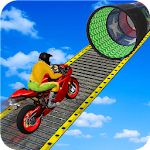 Racing Moto Bike Stunt : Impossible Track Game Icon