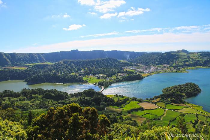 смотровые площадки острова Сан Мигель, Азоры