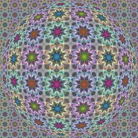 FRACTAL PATTERN  OP ART by Cassy 67 - Illustration Abstract & Patterns ( digital, love, op art, surreal, harmony, abstract art, trippy, abstract, creative, fractals, digital art, psychedelic, modern, kaleidoscope, light, fractal, style, energy, fashion )