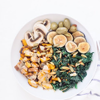 Simple Sweet Potato and Greens Bowl