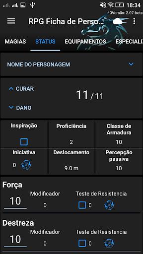 Baixar RPG - Ficha de Personagem para Android no Baixe Fácil!