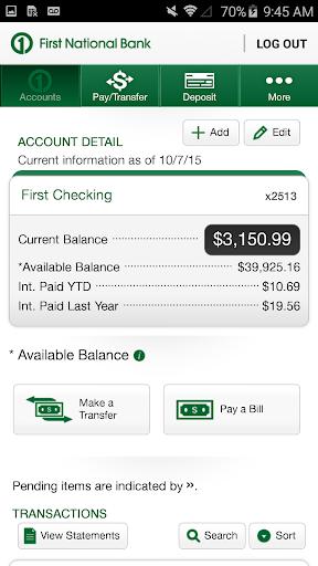 玩免費財經APP|下載First National Bank Columbus app不用錢|硬是要APP