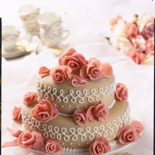 Sweet Almond Wedding Cake.