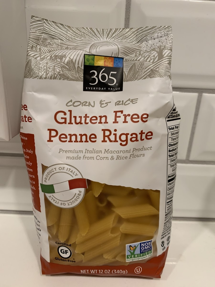 Corn & Rice Gluten Free Penne Rigate