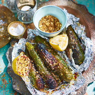 Courgettes With Lemon And Dukkah