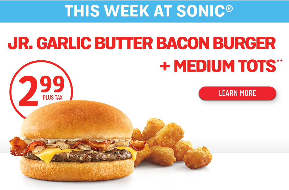 Sonic Hours Near Me >> Sonic Drive In Deals