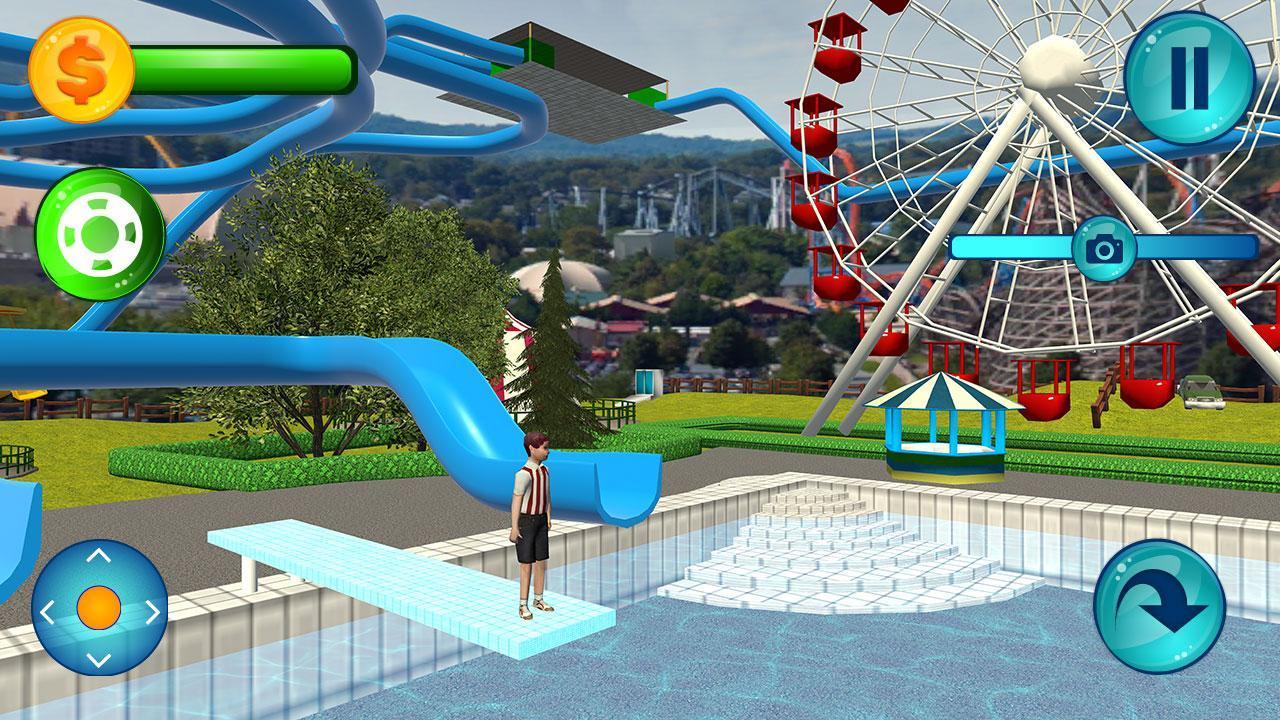 Roller Game Coaster 3d Rush