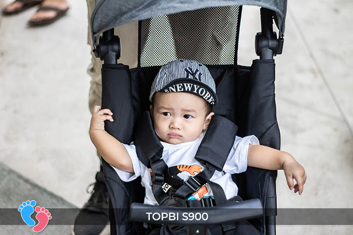 Xe đẩy cao cấp Topbi S900 8
