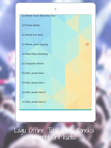 DJ Dugem Terbaru House Remix 2018 OFFLINE 1.0 screenshots 6