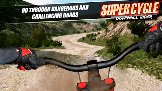 Super Cycle Downhill Rider