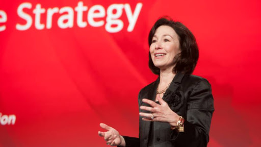 Oracle CEO Safra Catz. (Image source: Twitter).