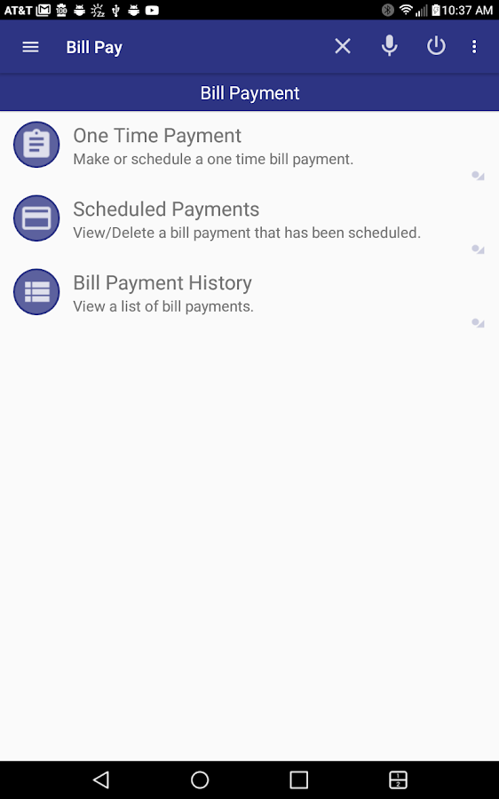 FICU Mobile Banking- screenshot