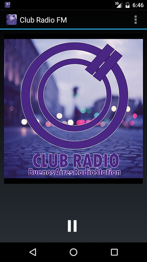 CLUB RADIO FM- screenshot