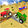Tractor Cargo Train Transport