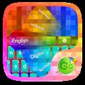 Cubic GO Keyboard Theme icon