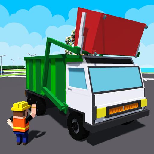 City Garbage Truck Drive Simulator