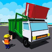 City Garbage Truck Drive Simulator