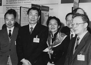 """Photo: DAVOS/SWITZERLAND, FEB 1986 - Zhu Rongji, Vice-Chairman of China's State Economic Commission and future premier (1999 - 2003), leading the Chinese delegation at the European Management Symposium, the predecessor of the World Economic Forum in Davos in 1986.  Copyright <a href=""""http://www.weforum.org"""">World Economic Forum</a> (<a href=""""http://www.weforum.org"""">http://www.weforum.org</a>)"""