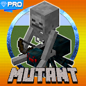 Mutant Creatures Mod - Maps For Minecraft PE icon