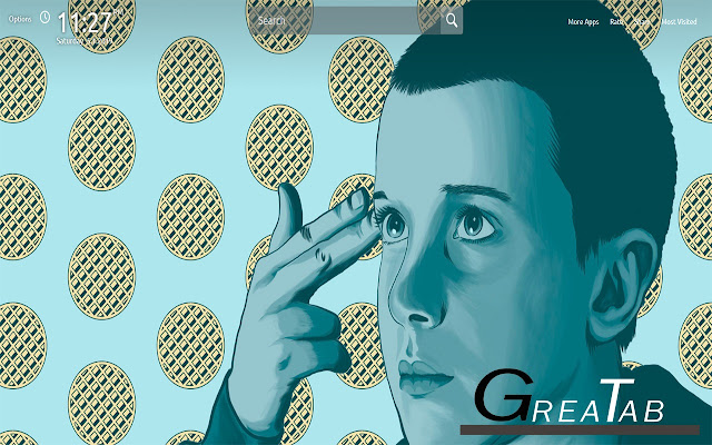 Stranger Things Wallpapers Theme |GreaTab