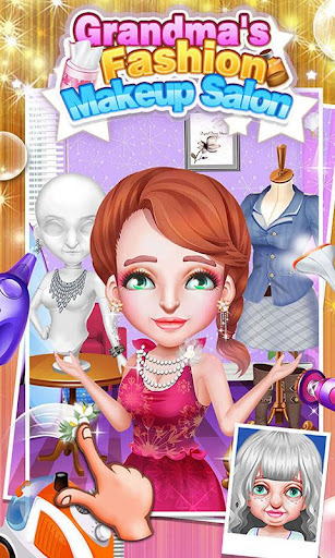 無料休闲Appのおばあちゃんのファッションメイクサロン|記事Game